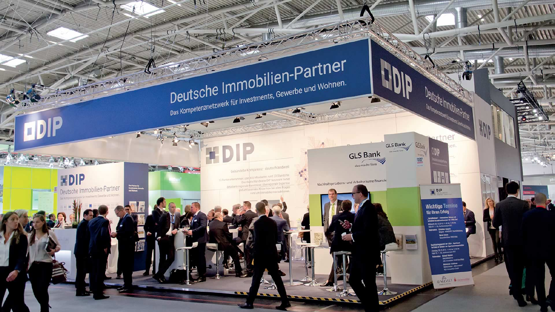 DIP-Messestand Expo Real
