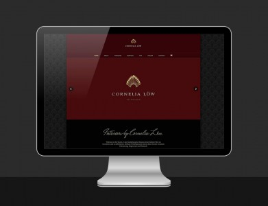 Cornelia Löw Interiors Website