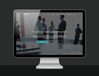 AddOn Pharma Website