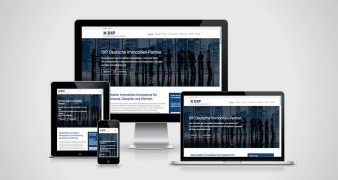 Relaunch der website DIP. Deutsche Immobilien-Partner