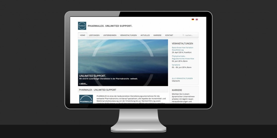 Pharmalex Website
